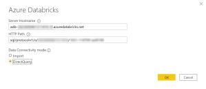Exemple de connexion au cluster Azure Databricks