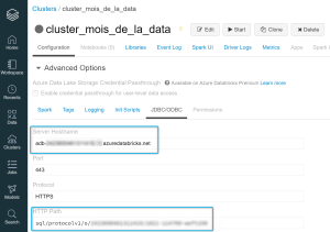 Cluster Azure Databricks