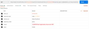 ID appli API Microsoft Azure AD