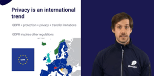 Compliance Beyond Security: a Cloud Native GDPR Implementation Experience