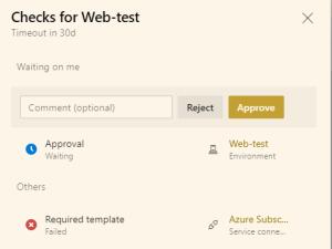 yaml web test echec controle