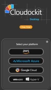 Cloudockit choix plateforme