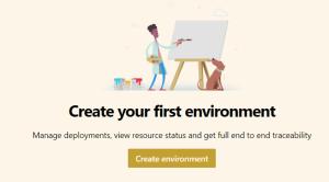 creation environnement yaml