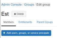 Affectation utilisateurs au groupe Databricks console